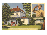 Eisenhower's Mother's House, Abilene, Kansas Posters