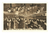 Scenes from the YMCA of New York City Prints