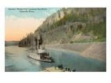 Steamer on Columbia River, Oregon Posters