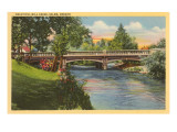 Mill Creek, Salem, Oregon Prints