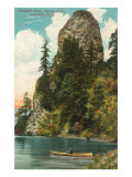 Rooster Rock, Columbia River, Oregon Posters