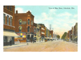Main Street, Ashtabula, Ohio Art