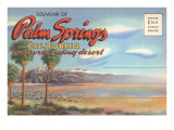 Postcard Folder, Palm Springs, California Print