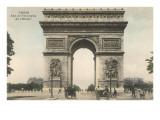 Arc de Triomphe de l'Etoile Posters