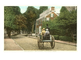 Main Street, Nantucket, Massachusetts Poster
