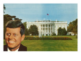 John F. Kennedy and White House Posters
