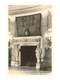Interior, Vanderbilt Mansion, Hyde Park, New York Posters