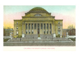 Library, Columbia University, New York City Poster