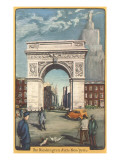 Washington Arch, New York City Kunstdruck