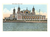 Ellis Island, New York City Prints