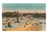 Place de la Concorde, Paris Prints