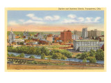 Business District, Youngstown, Ohio Prints