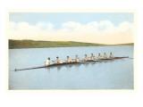 Vintage Rowing Crew Giclée-Premiumdruck