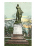Lafayette Statue, Union Square, New York City Prints