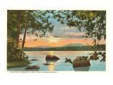 Raquette Lake, Adirondacks, New York Poster
