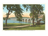 Cumberland Valley Bridge, Harrisburg, Pennsylvania Prints