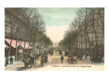 Boulevard des Capucines, Paris Posters