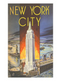 New York City, Empire State Building Print