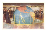 Lobby and Globe, News Building, New York City Photo