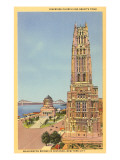 Riverside Church, Grant&#39;s Tomb, New York City Prints