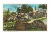 Devil's Den, Gettysburg, Pennsylvania Poster