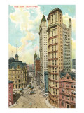 Park Row, New York City Prints