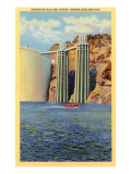 Intake Towers, Boulder Dam, Nevada Prints