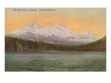 Three Sisters Mountains, Oregon Kunstdrucke