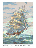 Paint by Numbers, Ship Print