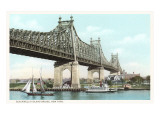 Blackwells Island Bridge, New York Prints