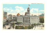 Borough Hall, Brooklyn, New York City Prints