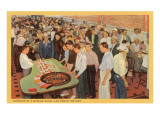 Casino Scene, Las Vegas, Nevada Prints