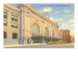 Train Station, Albany, New York Lmina