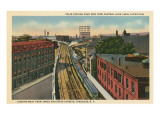 Syracuse Train, New York State Prints