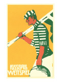 German Soccer Match Posters