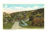 Gardens, Mohonk Lake, New York Prints