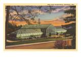 Eden Park Conservatory, Cincinnati, Ohio Poster