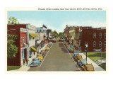 Wooster Street, Bowling Green, Ohio Prints