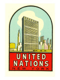 United Nations, New York Posters