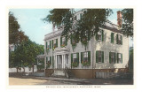 Wallace Hall, Main Street, Nantucket, Massachusetts Art