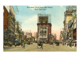 Broadway, 45th Street, New York City Prints