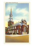Christ Church, Philadelphia, Pennsylvania Poster