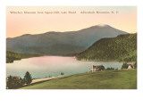 Whiteface Mountain, Lake Placid, New York Print
