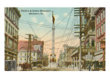 Soldiers and Sailors Monument, Allentown, Pennsylvania Posters