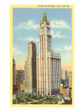 Woolworth Building, New York City Posters