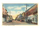 C Street, Virginia City, Nevada Posters