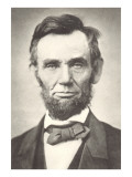 Early Photograph of Abraham Lincoln Affiches