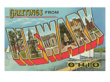 Greetings from Newark, Ohio Prints