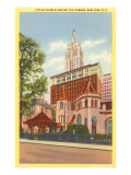 Little Church around the Corner, New York City Posters