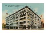 Olds Wortman & King Department Store, Portland, Oregon Poster